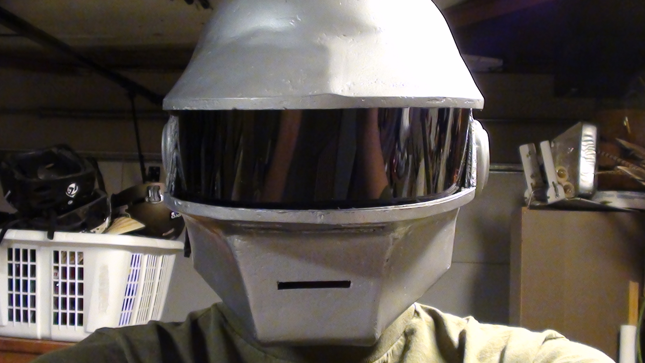 Thomas Bangalter Daft Punk Helmet