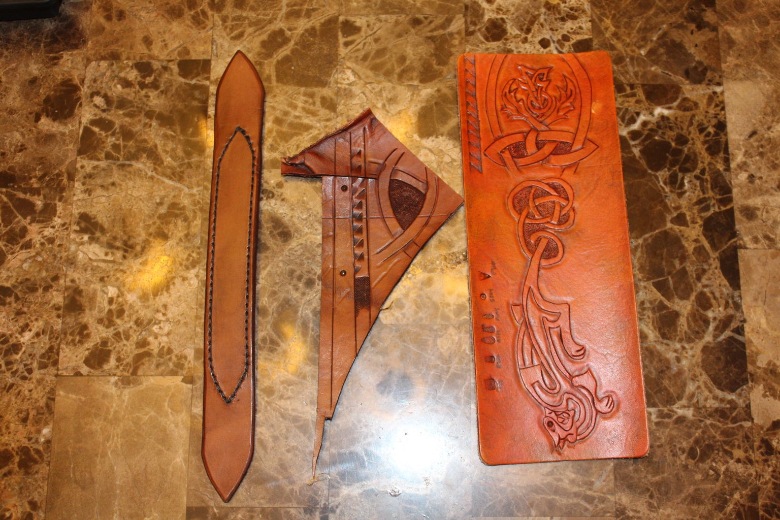 Dyeing and Finishing Leather
