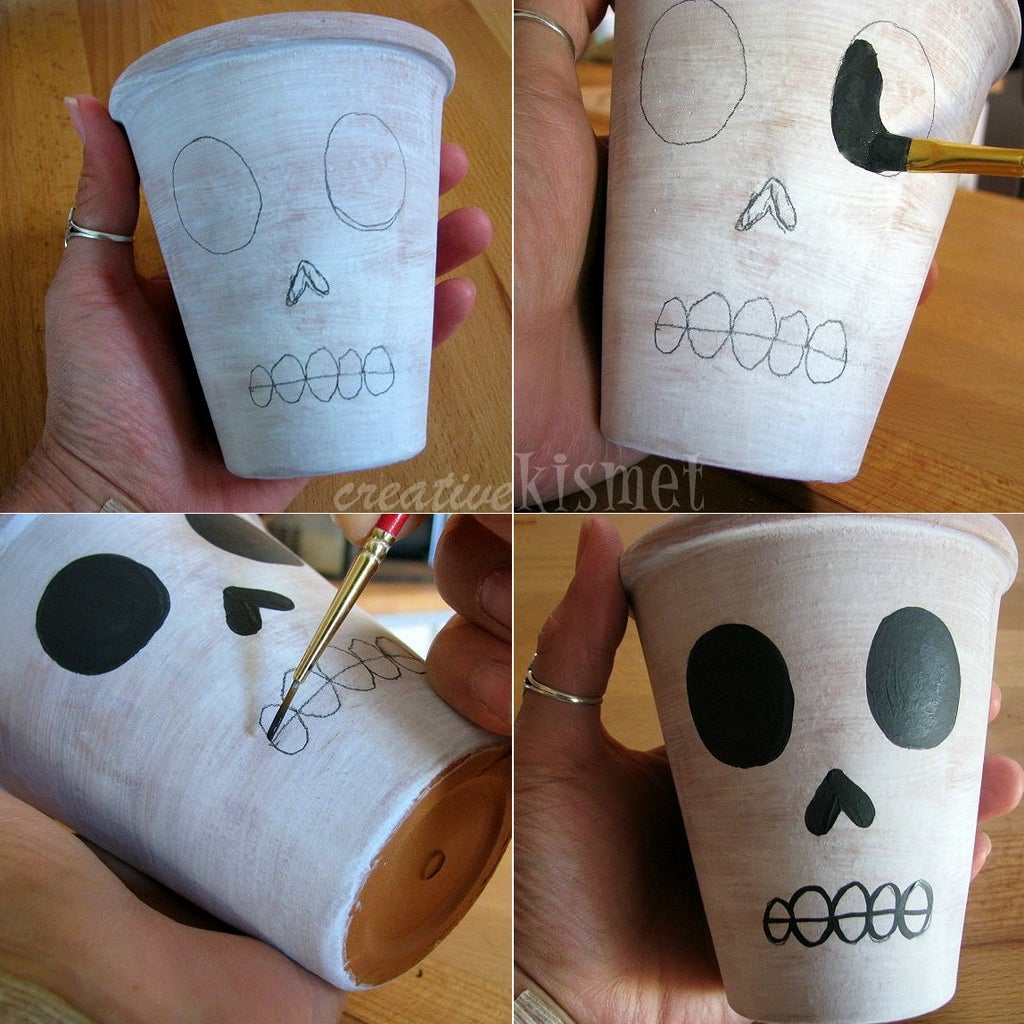 Make Skull Face