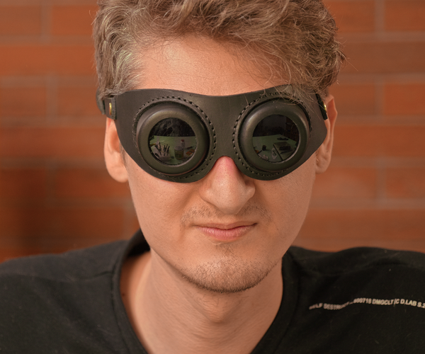 How to Make Leather Goggles With 3D Printed Molds