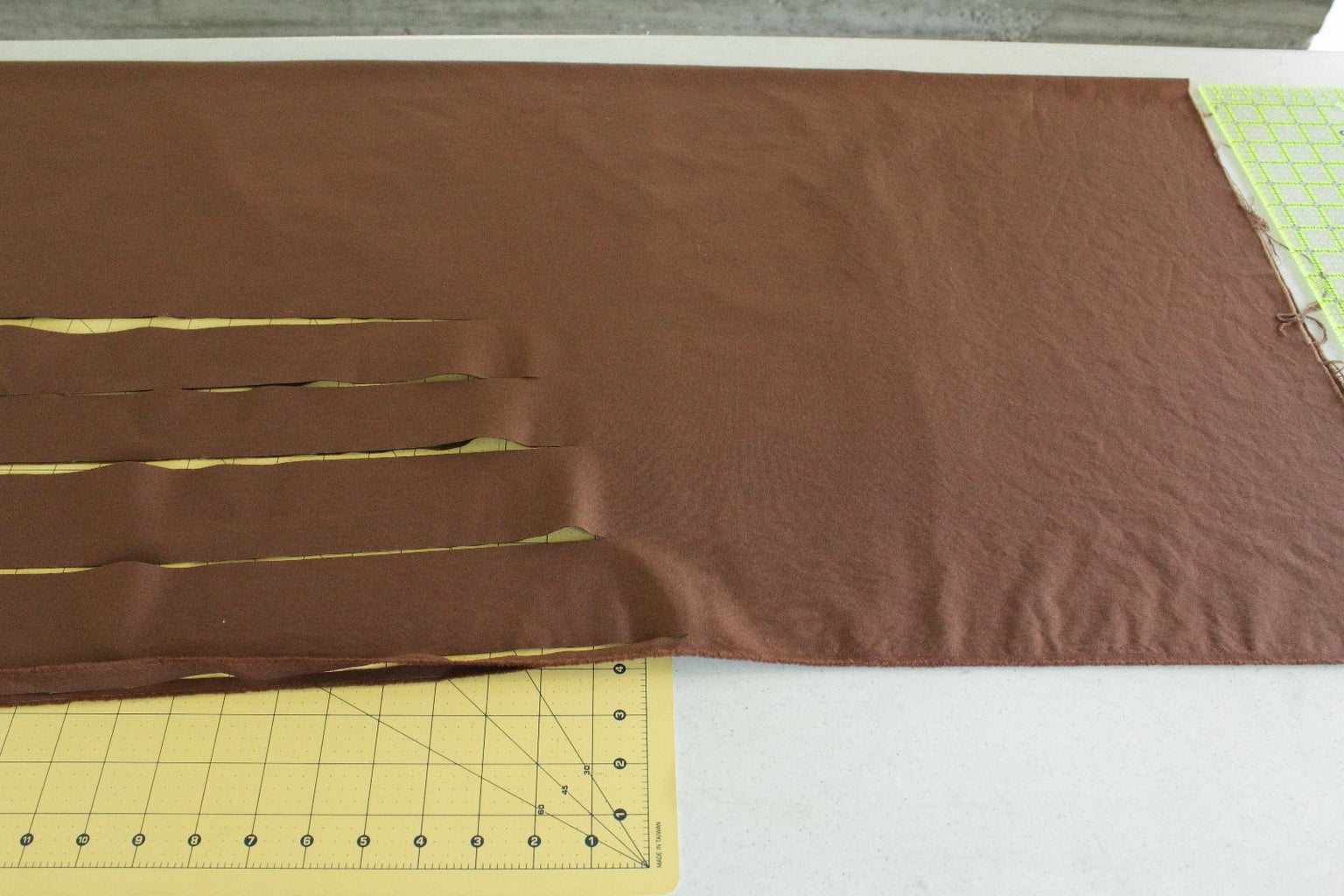 Quick Way to Prepare and Cut Sashing and Border Strips