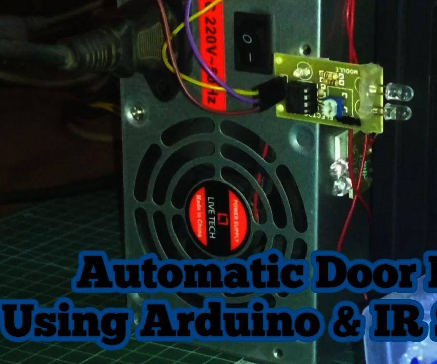 Automatic Door Lock Using Arduino and IR Sensors
