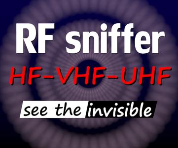 VHF-UHF RF Sniffer