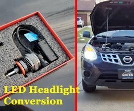 LED Headlight Conversion