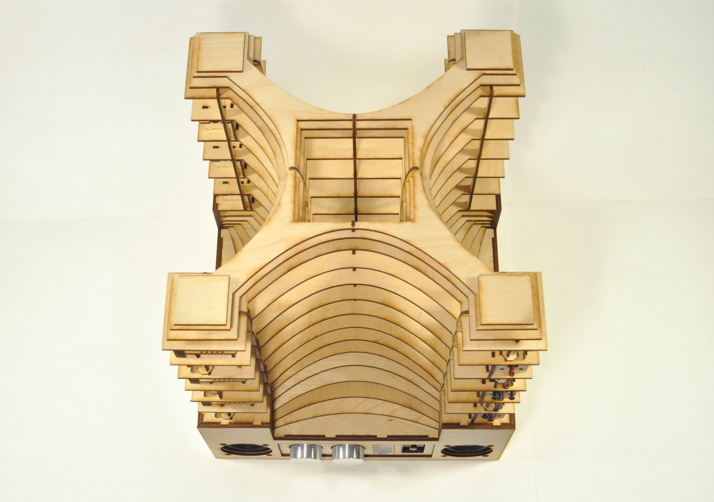Upright Laser Harp