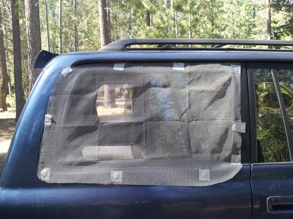 Magnetic Window Screens for Car Camping