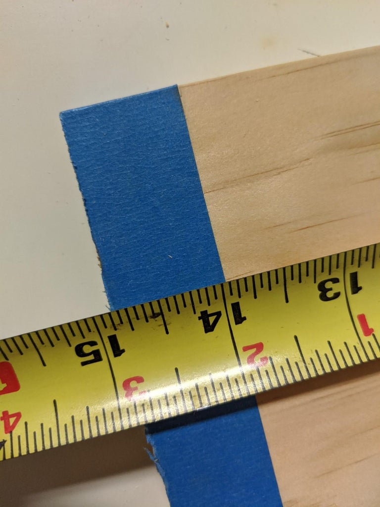 Marking the Boards (Shelves)