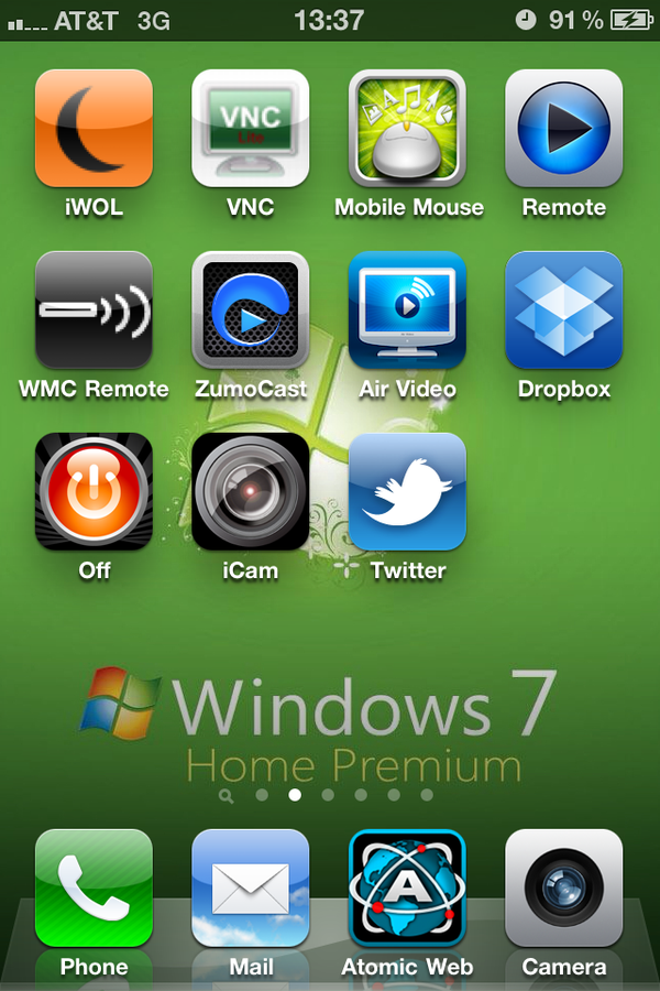 Complete Access to Desktop PC Through IPhone
