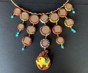 Elephant Terracotta Necklace