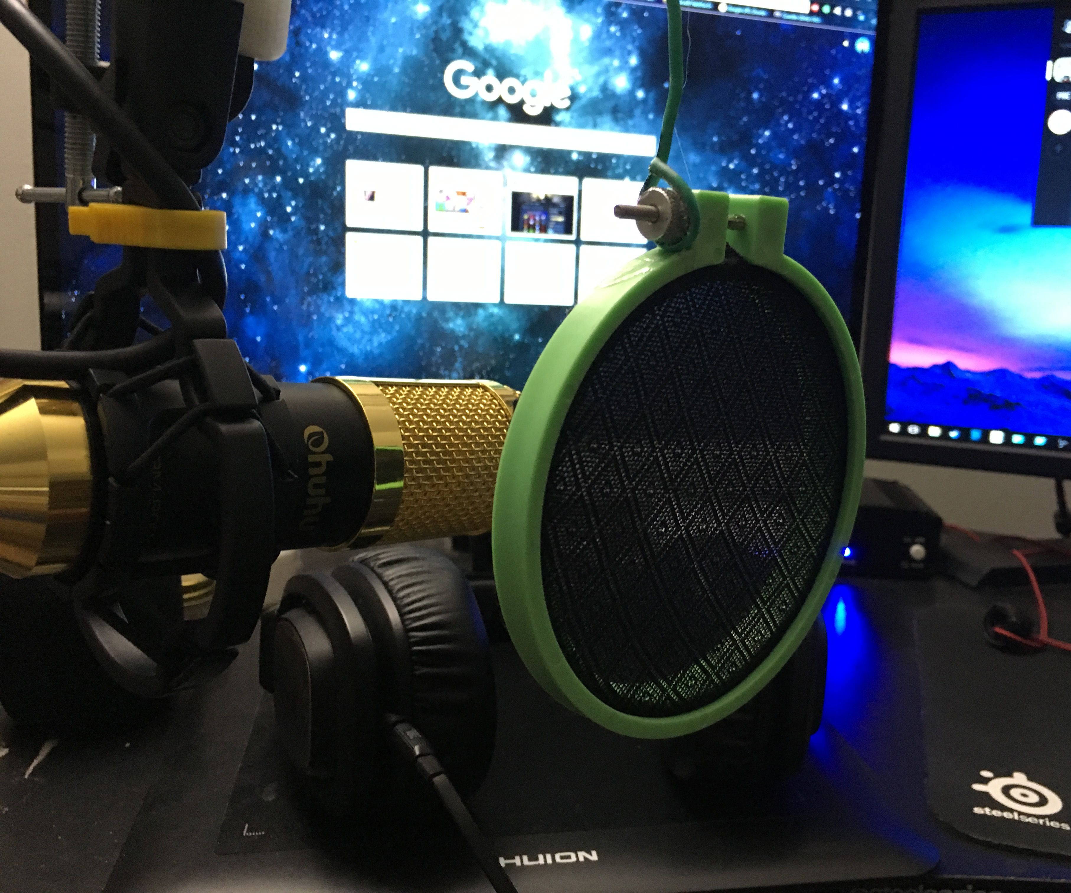 How To Make A Cheap And Easily Repairable Pop Filter