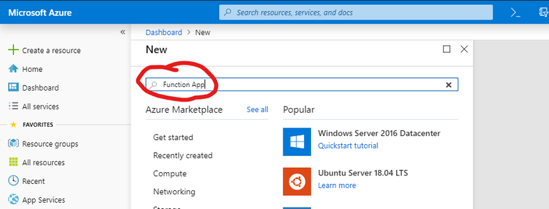 Software - Deploy the Azure Function