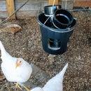 Hanging Chicken Feeder