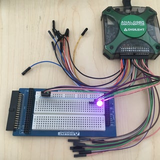 Analog Discovery PWM and Digital IO Control Though LabVIEW
