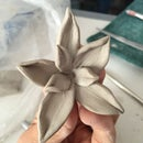 How To Make A Simple Flower In Clay