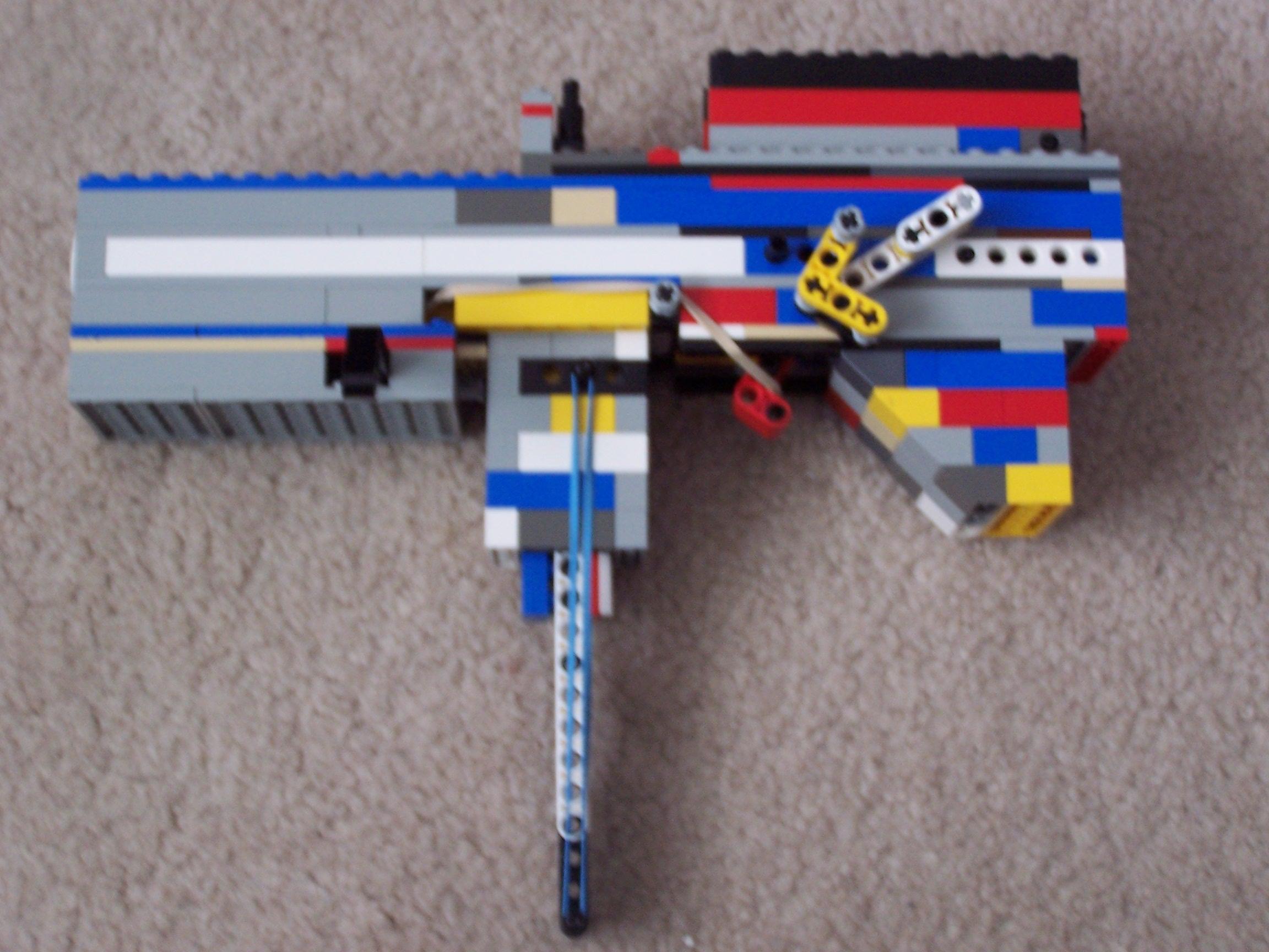 The D3 Lego Semi-Automatic Handgun