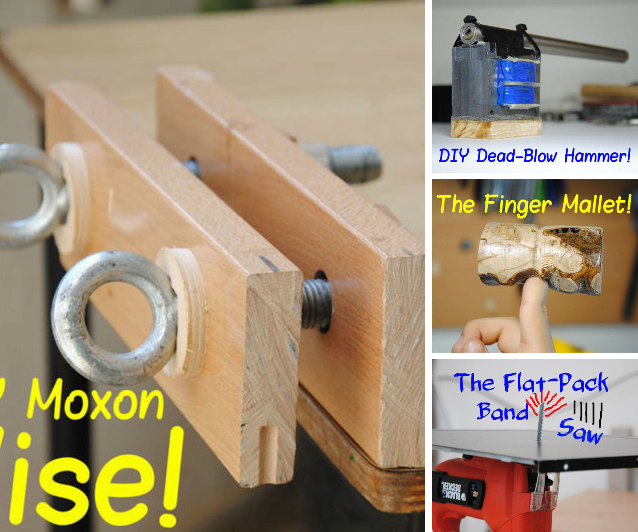 Yonatan24's Homemade Woodworking Tools