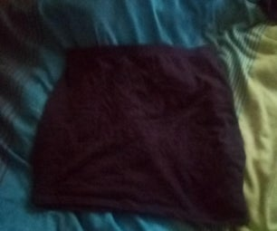 Shorts Into Skirt