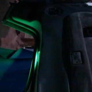 RGB LED Car Dash, and Door Lighting