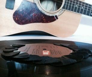 Record Guitar Pick