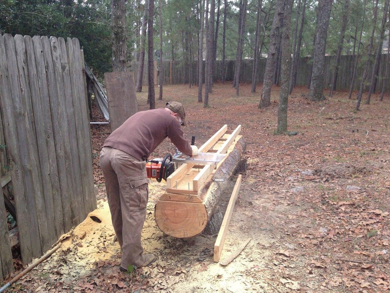Locate Wood and Begin Cutting