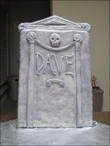 Building the Tombstone.