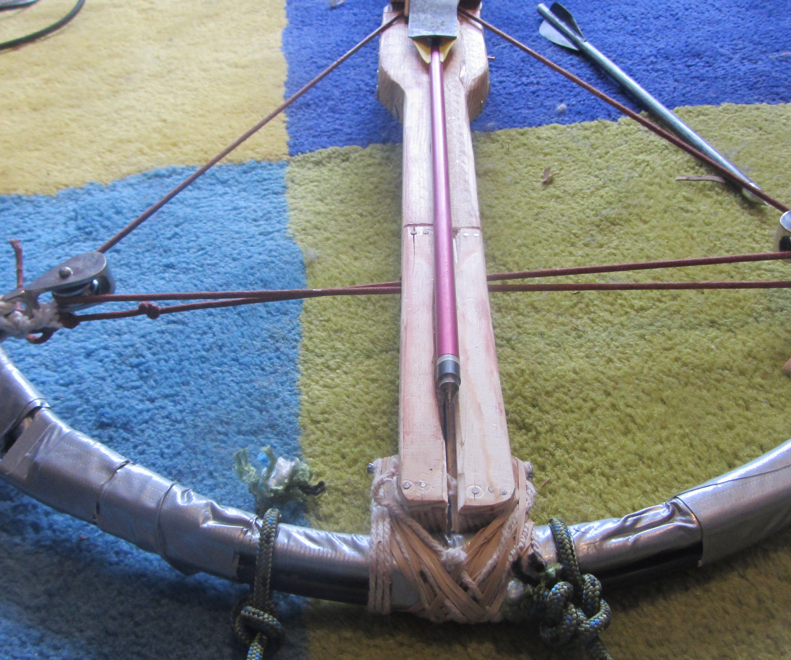 How To Make An Extremely Powerful 72lb Compound Crossbow