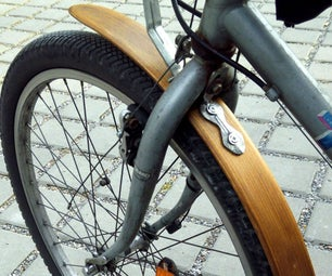 Bicycle Wood Fender