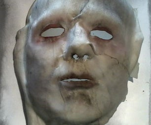 Mask Made Form Real Skin