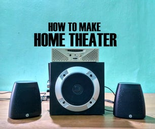 How to Make a Home Theater With Reclaimed Speakers