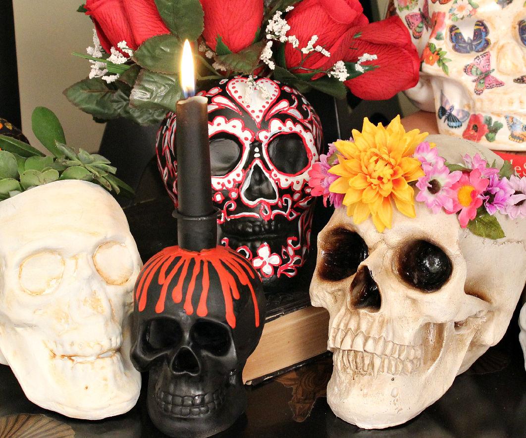 Five Halloween Skull DIYs