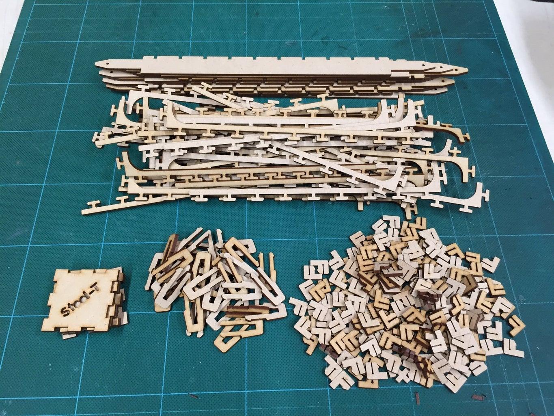 Cut Binding Parts