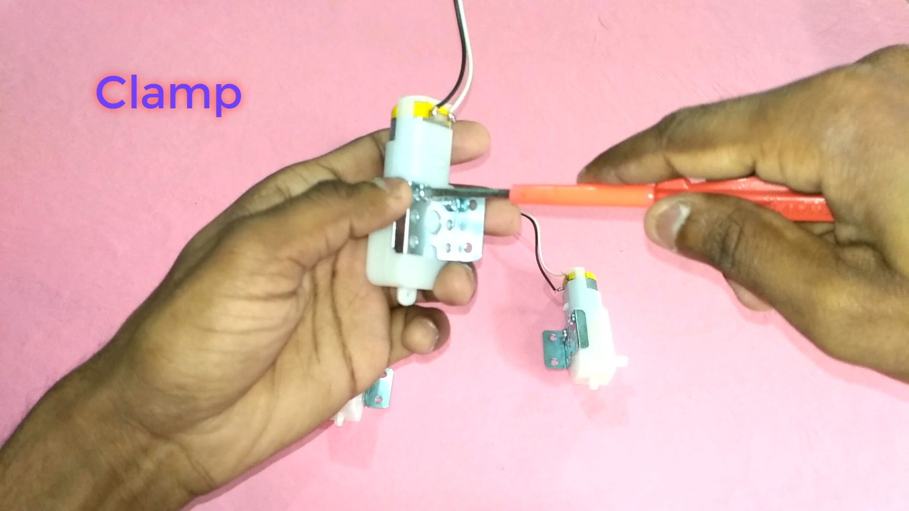 Connecting Clamps in BO DC Motor