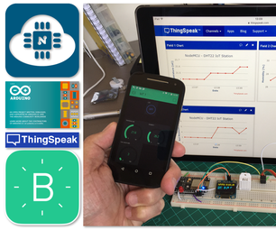 From Blink to Blynk, an IoT Journey on the Wings of NodeMCU ESP-12E
