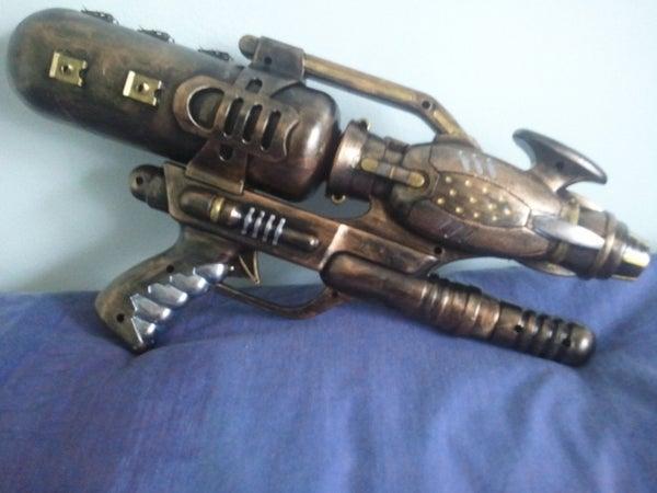 A Quick How To: Steampunk Gun Tutorial