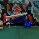 Clothespin Cable Holder