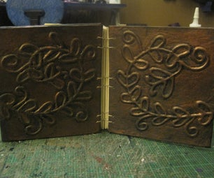 Embossed Book Cover