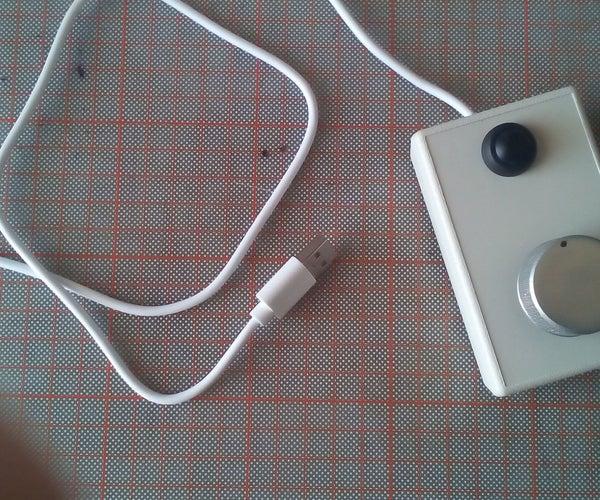 Atari-like USB Spinner Using Arduino Leonardo