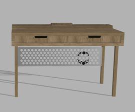 Cord Organizer Desk