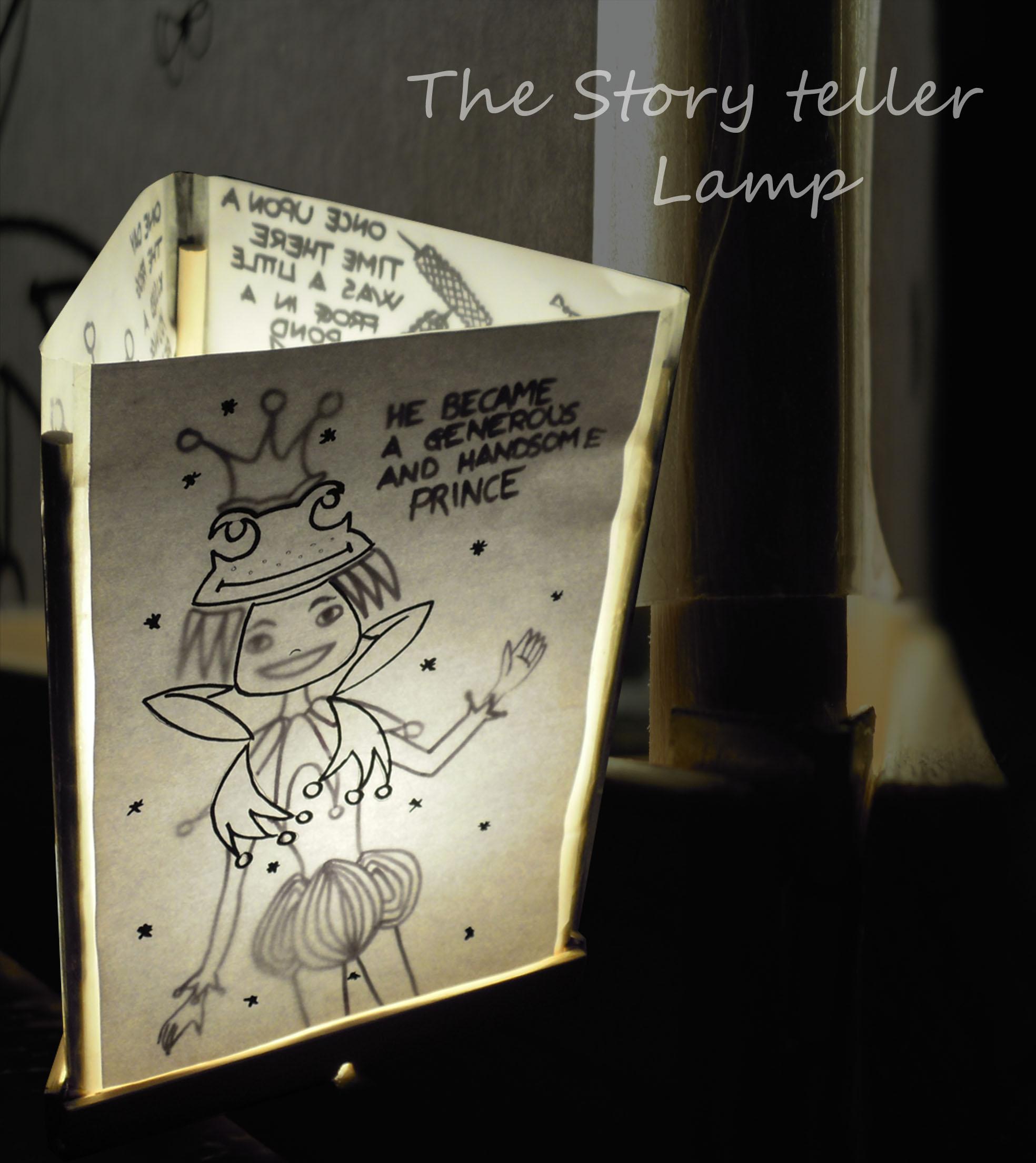 Story-teller lamp