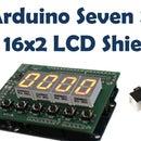 Arduino Seven Segment and LCD Shield