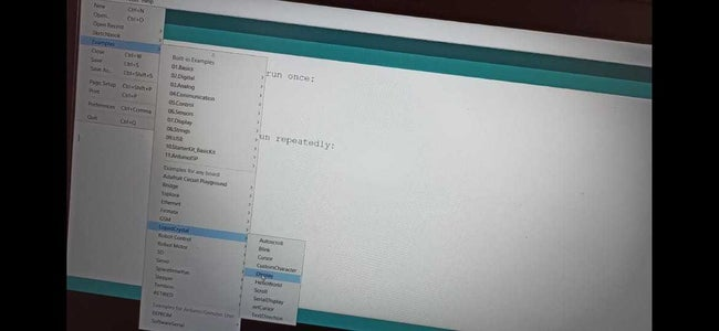 Connect Arduino to Pc for Programming