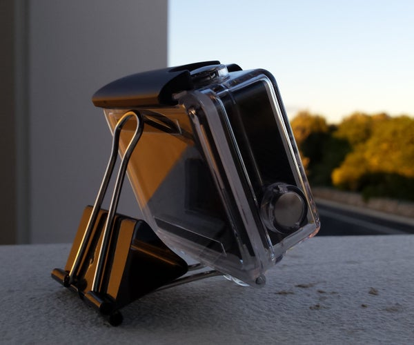 DIY GoPro Clip and Stand
