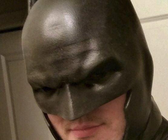 Creating a Polyurethane Batman Cowl