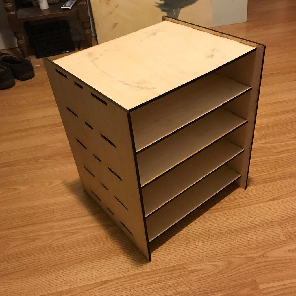 Laser Cut Furniture Shelf