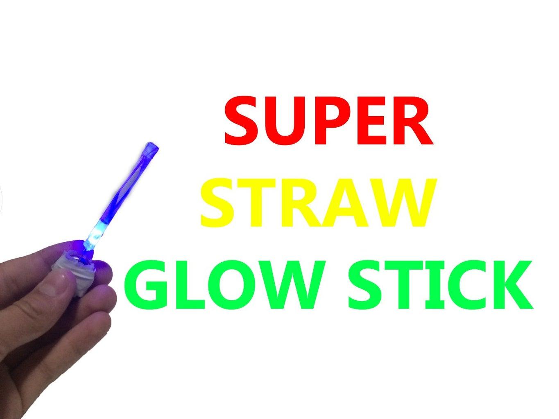 How to Make Straw Glow Stick (DIY Homemade Glow Stick)