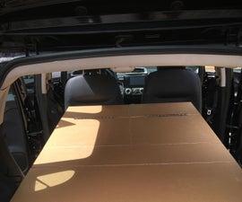Honda Fit Camper Unit