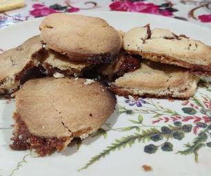Caramel Almond Butter Cookies