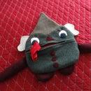 Zipper Lips PJ Creature