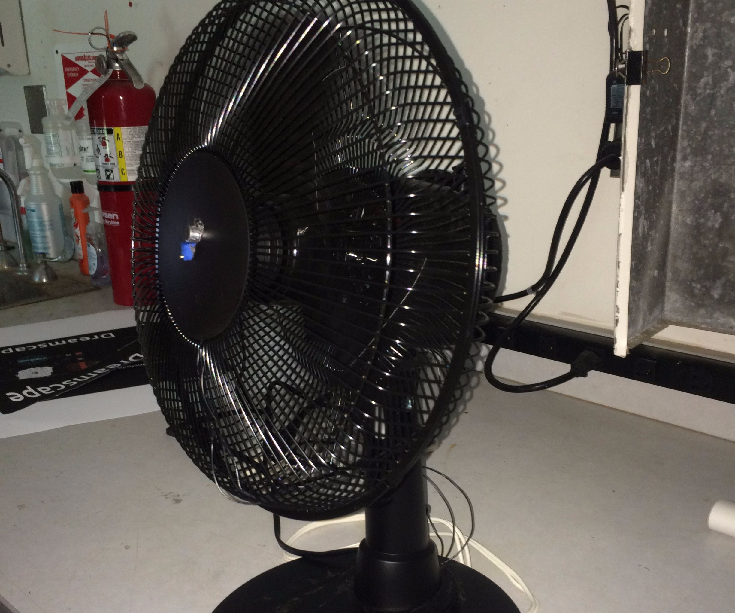 Sound Activated Fan