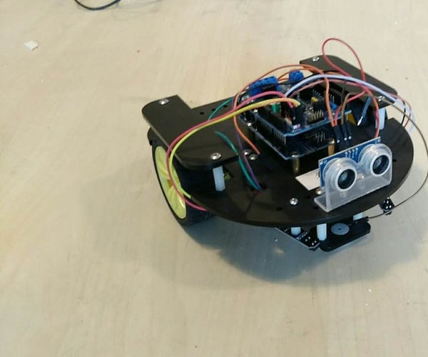 Obstacle Avoiding Robotic Vehicle